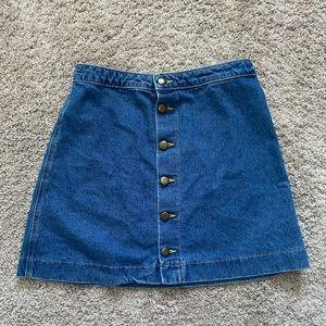 American Eagle Blue Jean Skirt